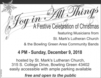 Joy in All Things A Festive Celebration of Christmas