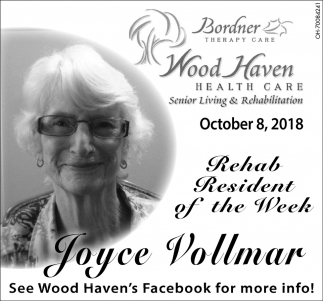 Joyce Vollmar