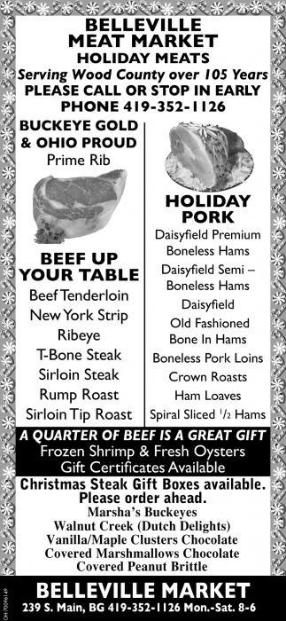 Belleville Meat Market