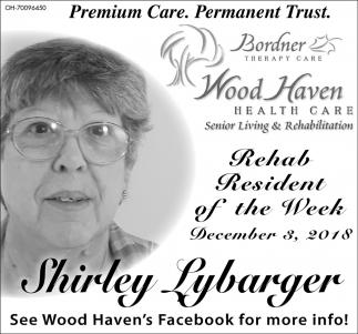 Shirley Lybarger