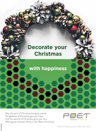 Decorate your Christmas with happiness