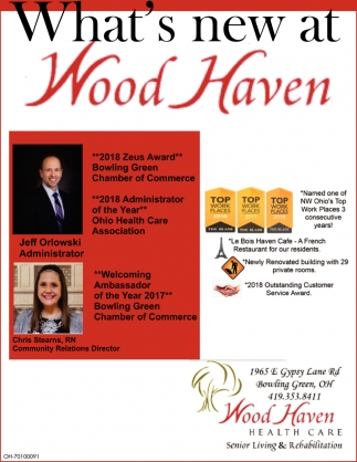 What's new at Wood Haven