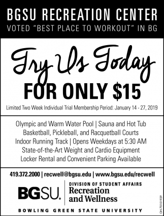 Try Us Today for only $15