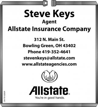 Steve Keys, Agent