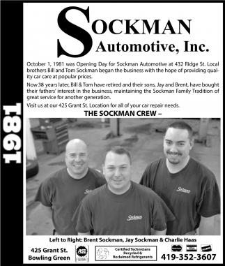 The Sockman Crew