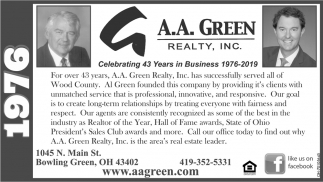 Celebrating 43 years in Business