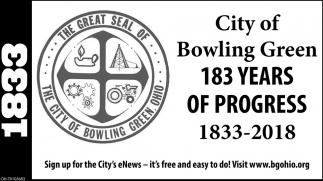 183 Years of Progress