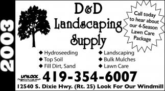 Hydroseeding, Top Soil, Fill Dirt, Sand