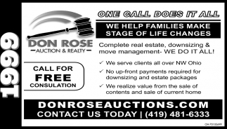 Complete real estate, downsizing & move management