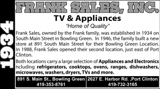 TV & Appliances