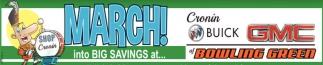 March! Into Big Savings at Cronin Buick GMC