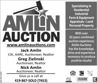 Specializing in Residentila, Industrial, Farm & Equipment Appraisals