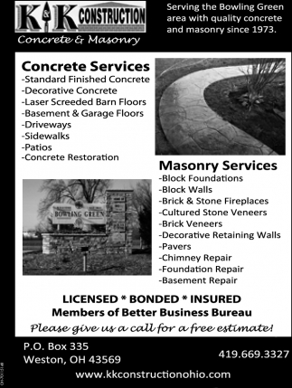 Concrete and Masonry Company