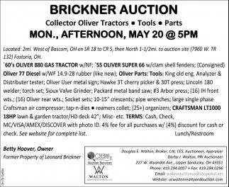 Brickner Auction