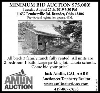 11657 Pemberville Rd. Brander, Ohio