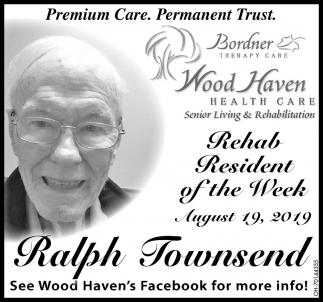 Rehab Resident of the Week