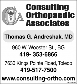 Consulting Orthopaedic Services
