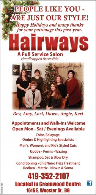 A Full Service Salon