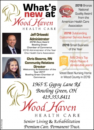 What's new at Wood Haven Health Care