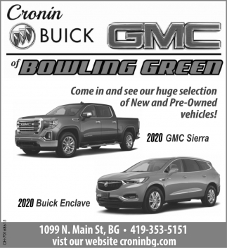 2020 GMC Sierra, 2020 Buick Enclave