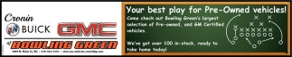 Your best play for Pre-Owned vehicles!