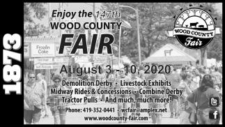 Enjoy the 147th Wood County Fair