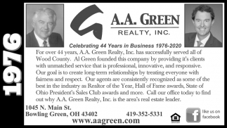 Celebrating 44 Years in Business