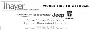 Thayer Family Dealerships