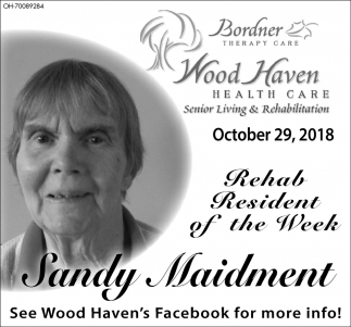 Sandy Maidment