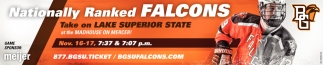 Nationally Ranked Falcons